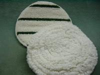 Vloerpad bonnet tapijt pad