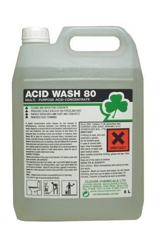 Acid wash 80 cementsluier clover