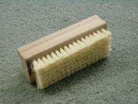 Wecoline - Nagelborstel hout dubb. fiber