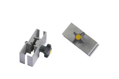 Dirks aluminium raamlat-klemmen