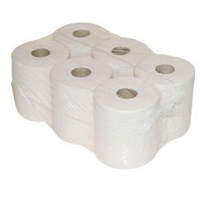 Euro Papierlijn - Poetsrol cellulose midi z. kern