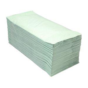Euro products - Handdoek z-vouw groen