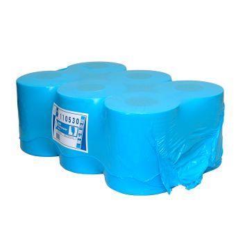 Euro Papierlijn - Poetsrol midi blauw extra zwaar