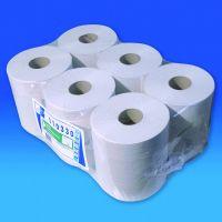 Euro Papierlijn - Poetsrol midi recycled naturel