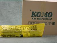 Plastic zak 60x80 komo