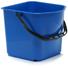 Emmer rechthoekig blauw 17 liter