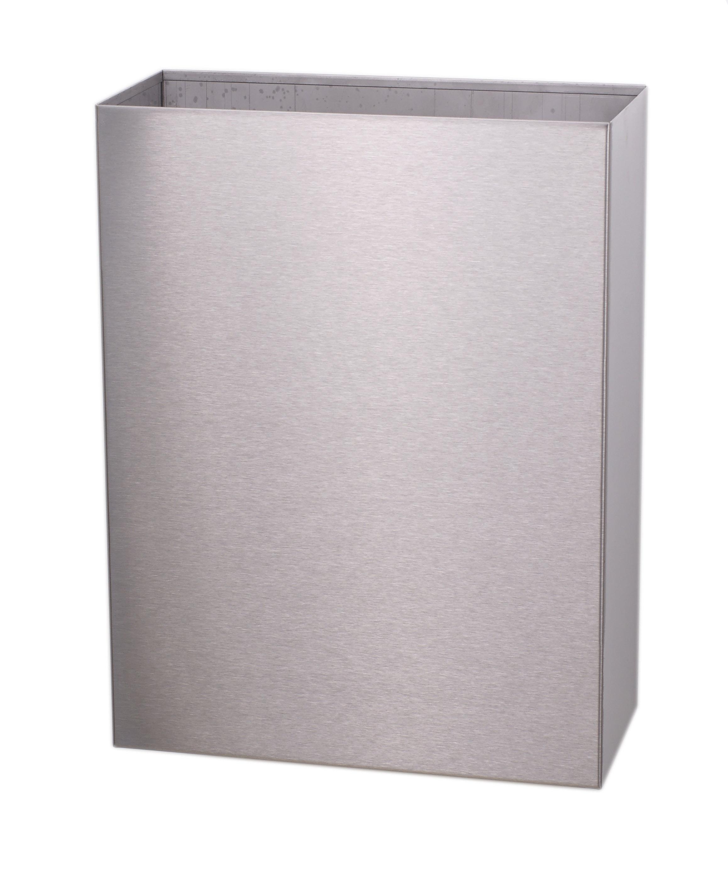 ALL CARE Dispenserline - Afvalbak open rvs hooggl 25 l DB