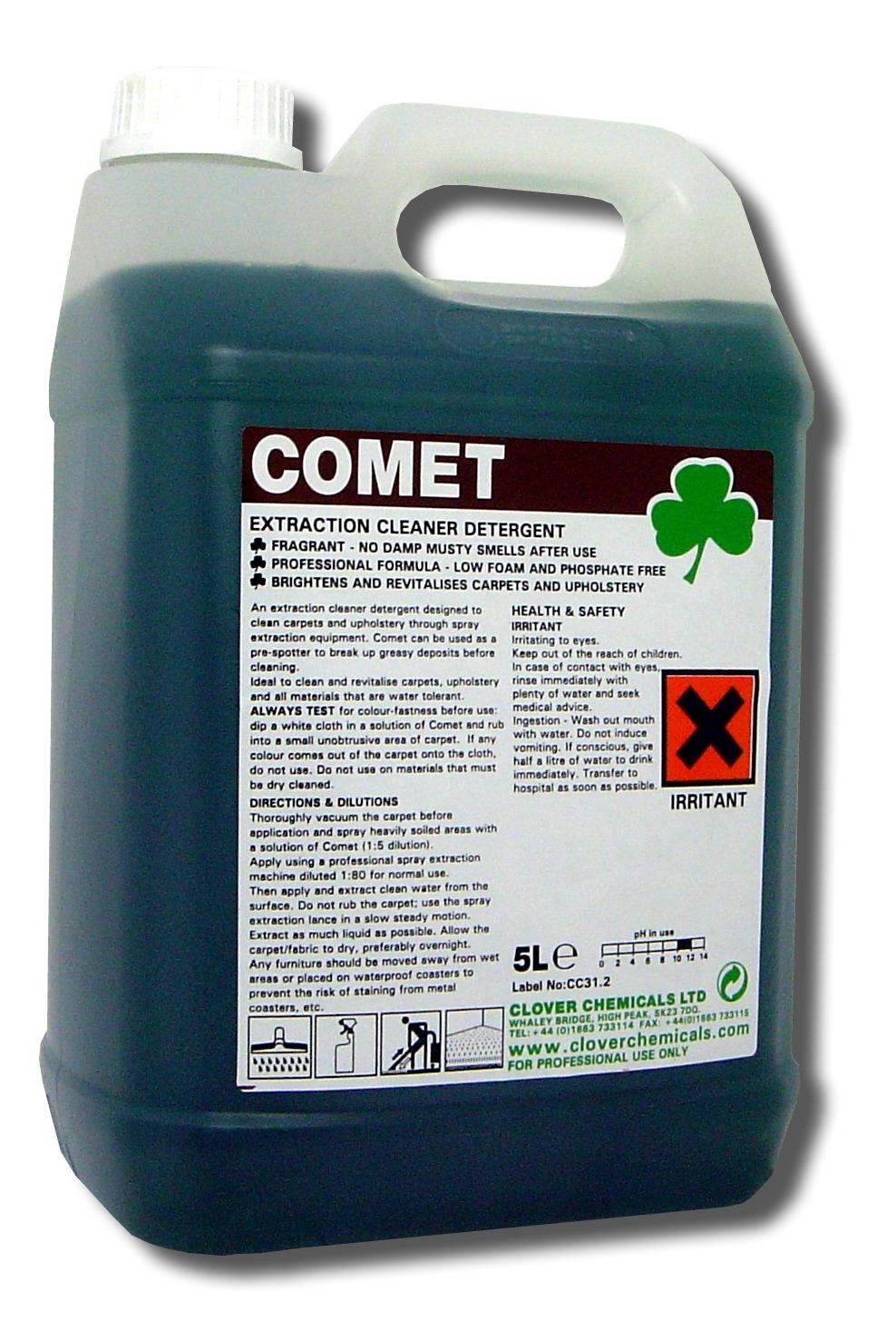 Comet tapijtreiniger clover