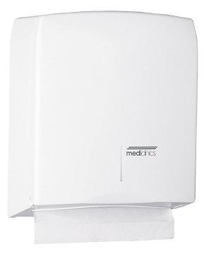 ALL CARE Dispenserline - Handdoekdispenser Wit Staal