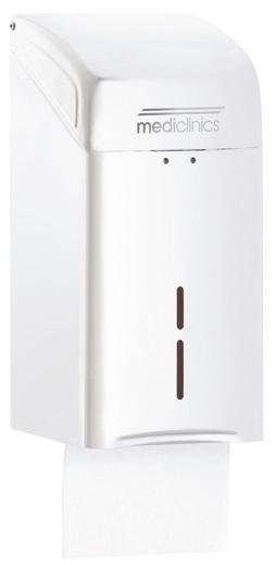 ALL CARE Dispenserline - Bulkpack dispenser Wit Staal MC