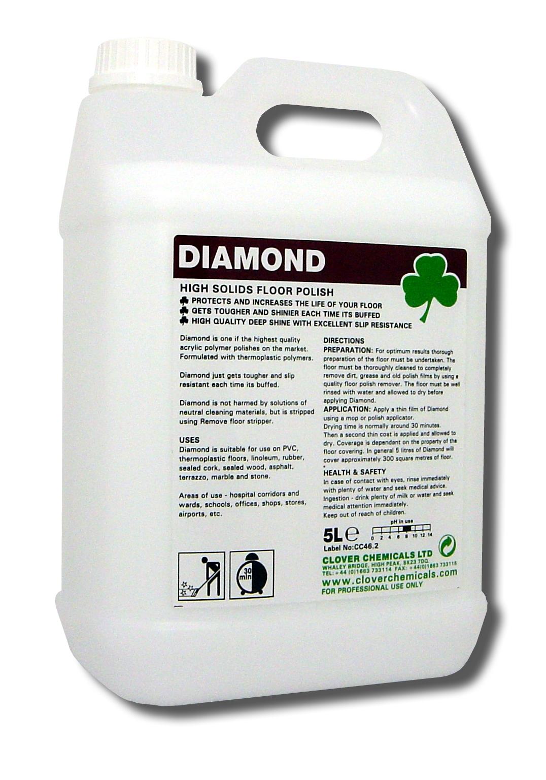 Clover - Diamond poly/acryl vloerwas 25%