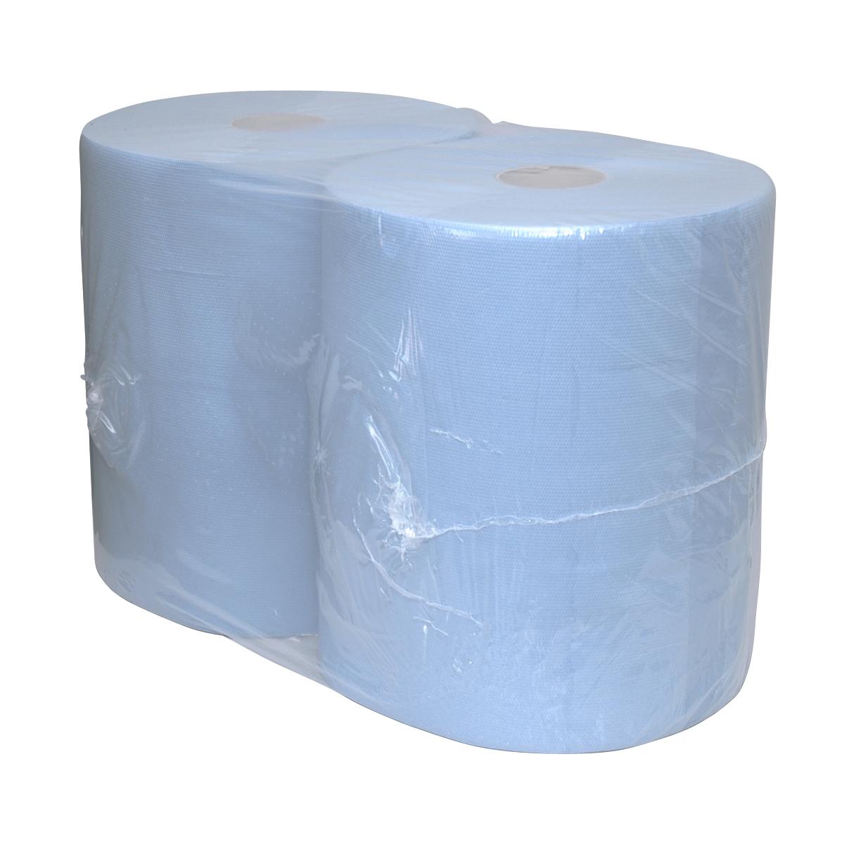 Euro Papierlijn - Poetsrol maxi blauw