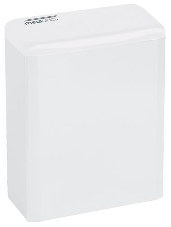 ALL CARE Dispenserline - Hygienebak Wit staal 6 liter MC