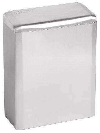 ALL CARE Dispenserline - Hygienebak RVS Hoogglans 6ltr MC