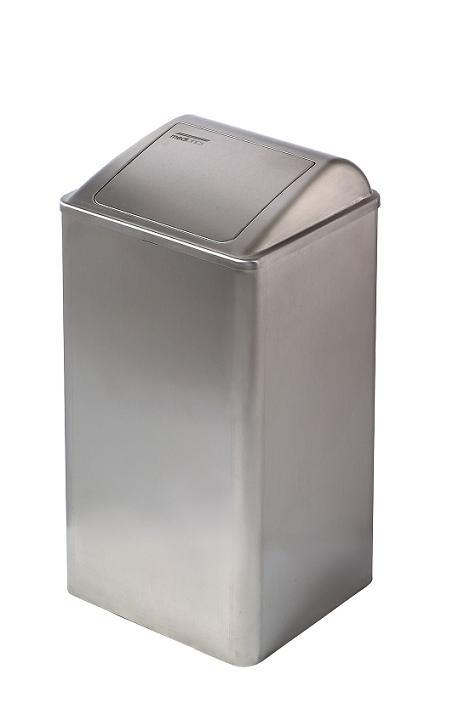 ALL CARE Dispenserline - Afvalbak RVS Mat 65 liter MC