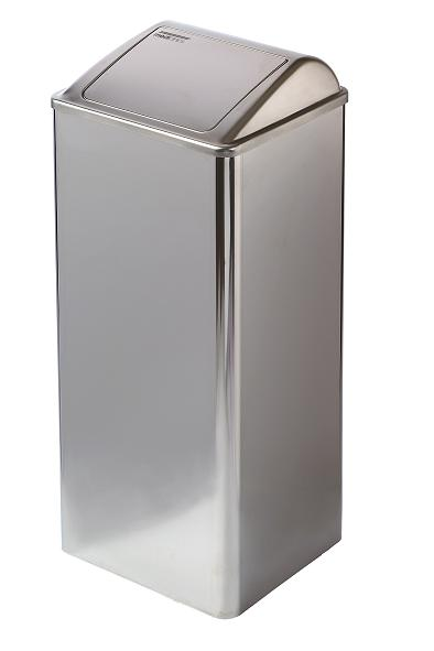 ALL CARE Dispenserline - Afvalbak RVS Hoogglans 80 ltr MC