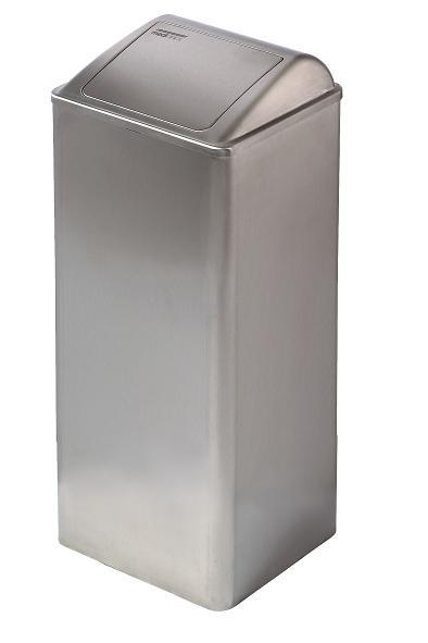 ALL CARE Dispenserline - Afvalbak RVS Mat 80 liter MC