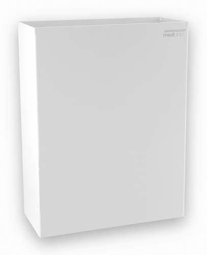 Afvalbak Wit staal 25 liter MC
