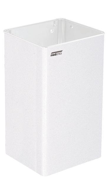 ALL CARE Dispenserline - Afvalbak Wit staal 65 liter MC