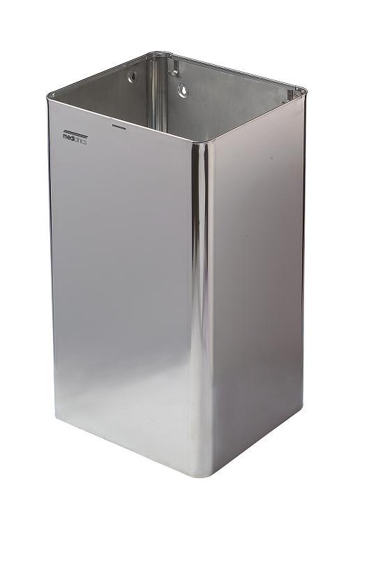 ALL CARE Dispenserline - Afvalbak RVS Hoogglans 65 ltr MC