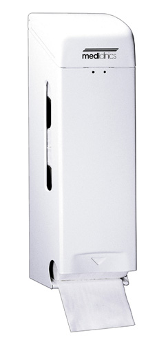 ALL CARE Dispenserline - Toiletroldispenser Wit Staal MC
