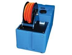 Telewas-unit 400 liter hoog