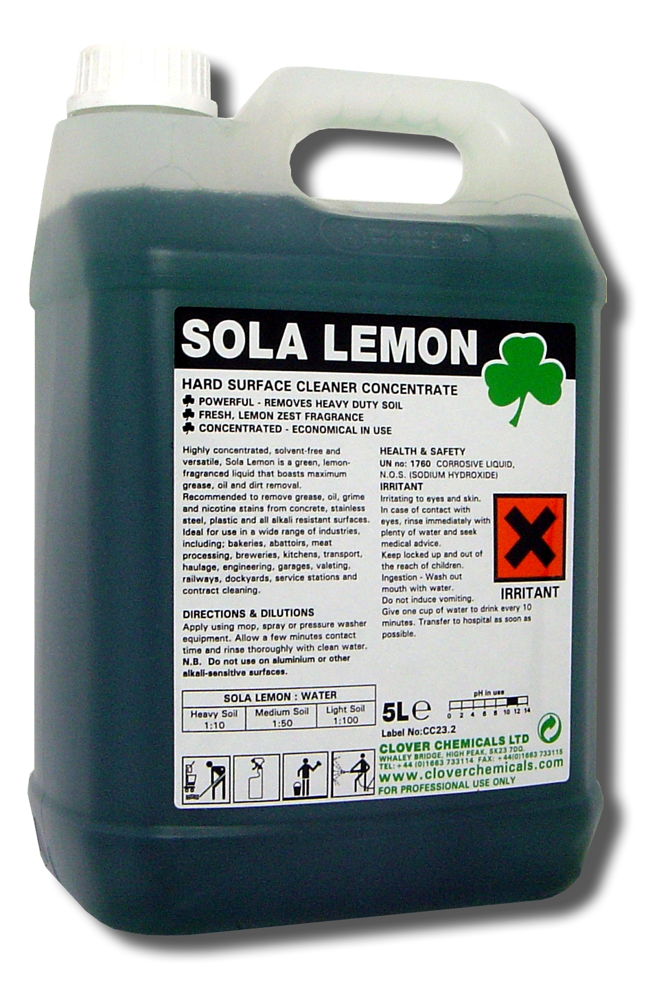 Sola lemon reinigingsconcentraat