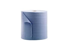Euro Papierlijn - Poetsrol midi blauw